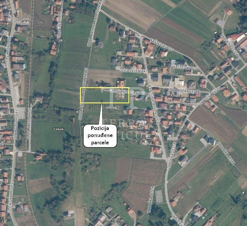Zabok, gradilište od 1430 m2