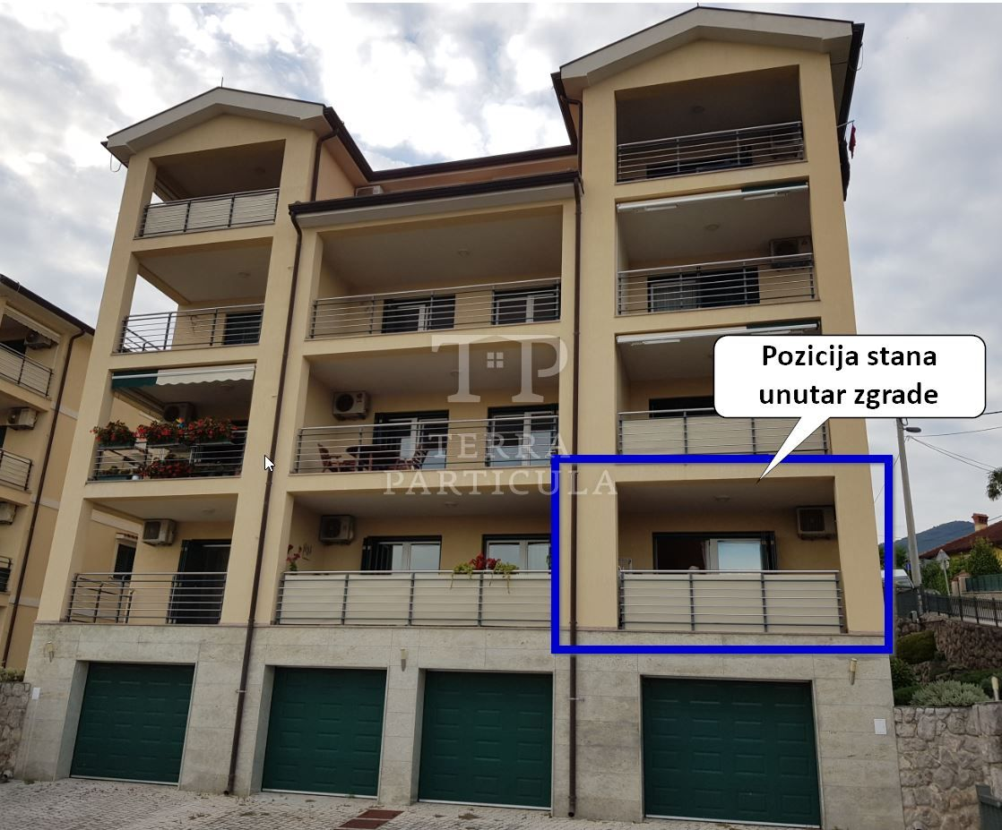 Ičići, Brdo 21, stan od 70,76 m2 s parkirnim mjestom