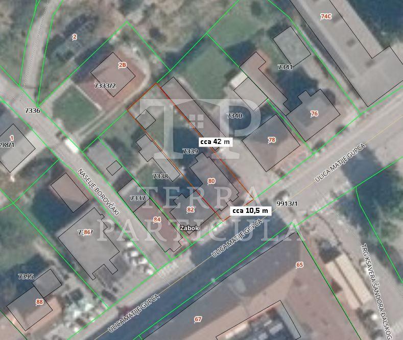 Zabok, centar, kuća s dva poslovna prostora