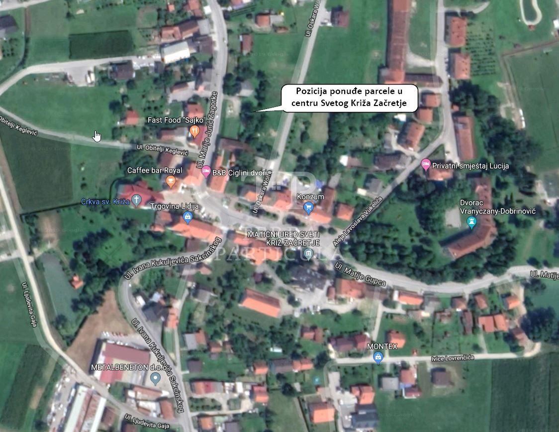 Sveti Križ Začretje, gradilište 1.241 m2