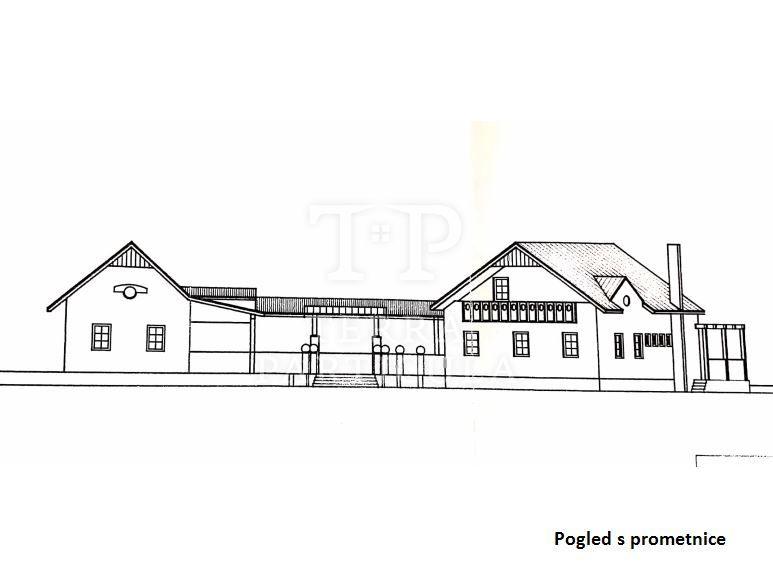 Kraljevec na Sutli, imanje s jezerom i s dvije zagorske hiže