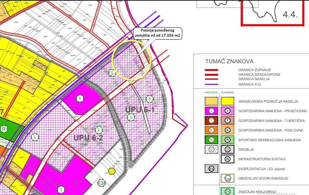 Veliko Trgovišće, ind. zona, 17.056 m2