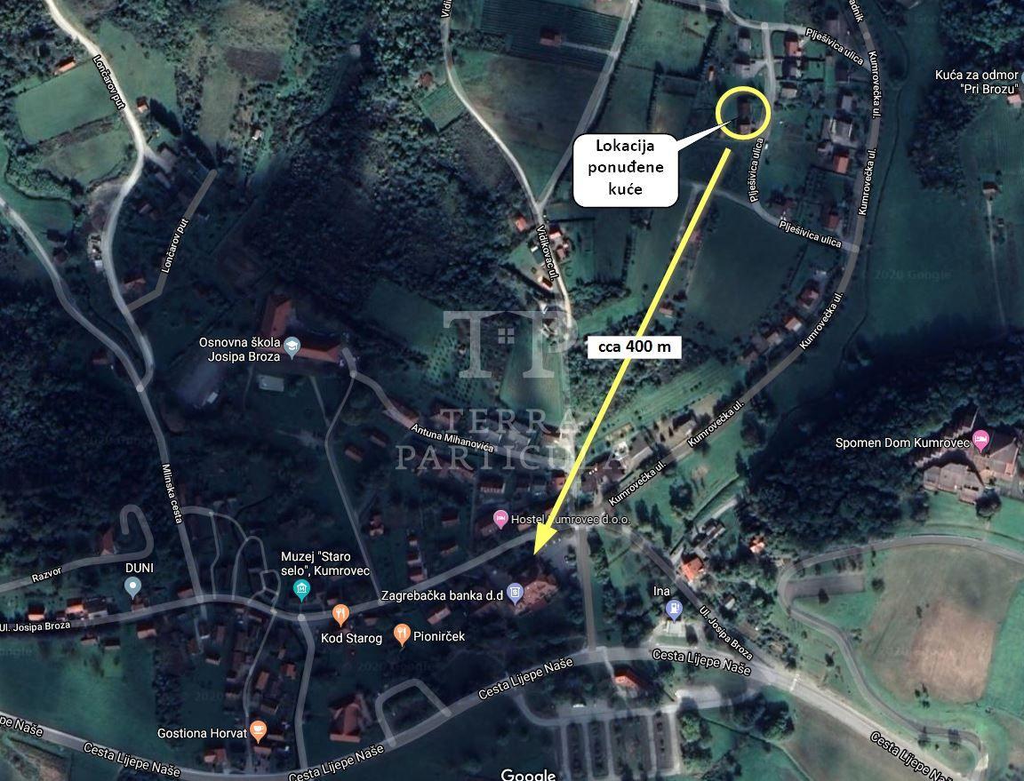 Kumrovec, kuća na prodaju - 35.000 eur