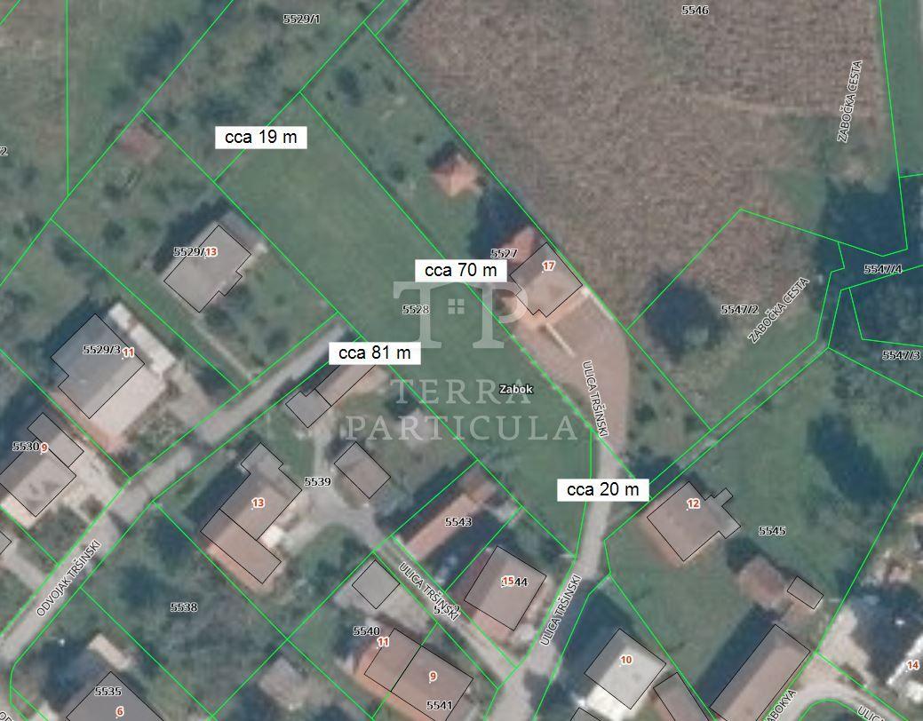 Zabok, Ns.Tršinski, gradilište 1373 m2
