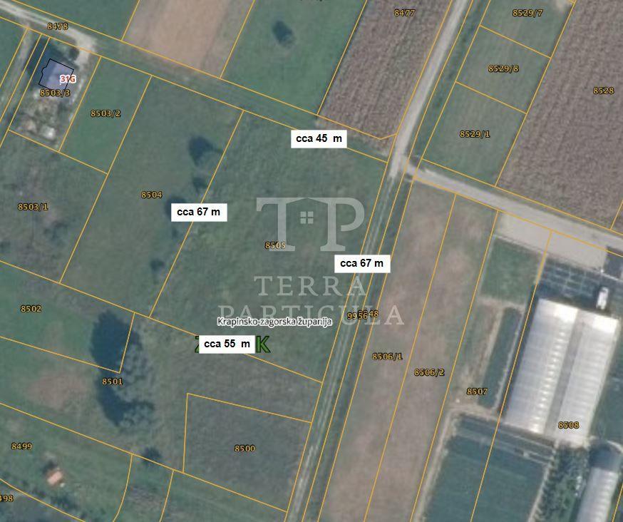 Zabok, Lug Zabočki gradilište 3298 m2