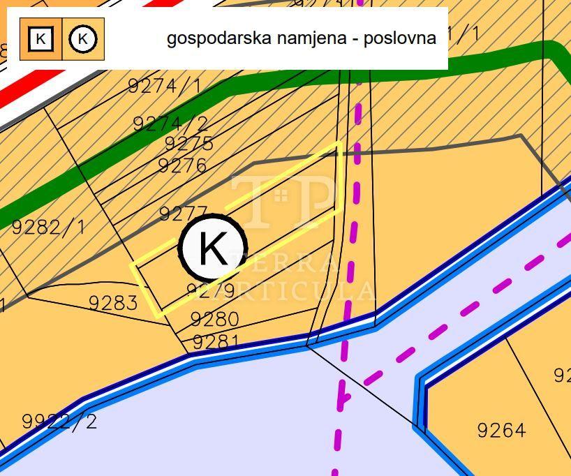 Zabok, zemljište u ind. zoni