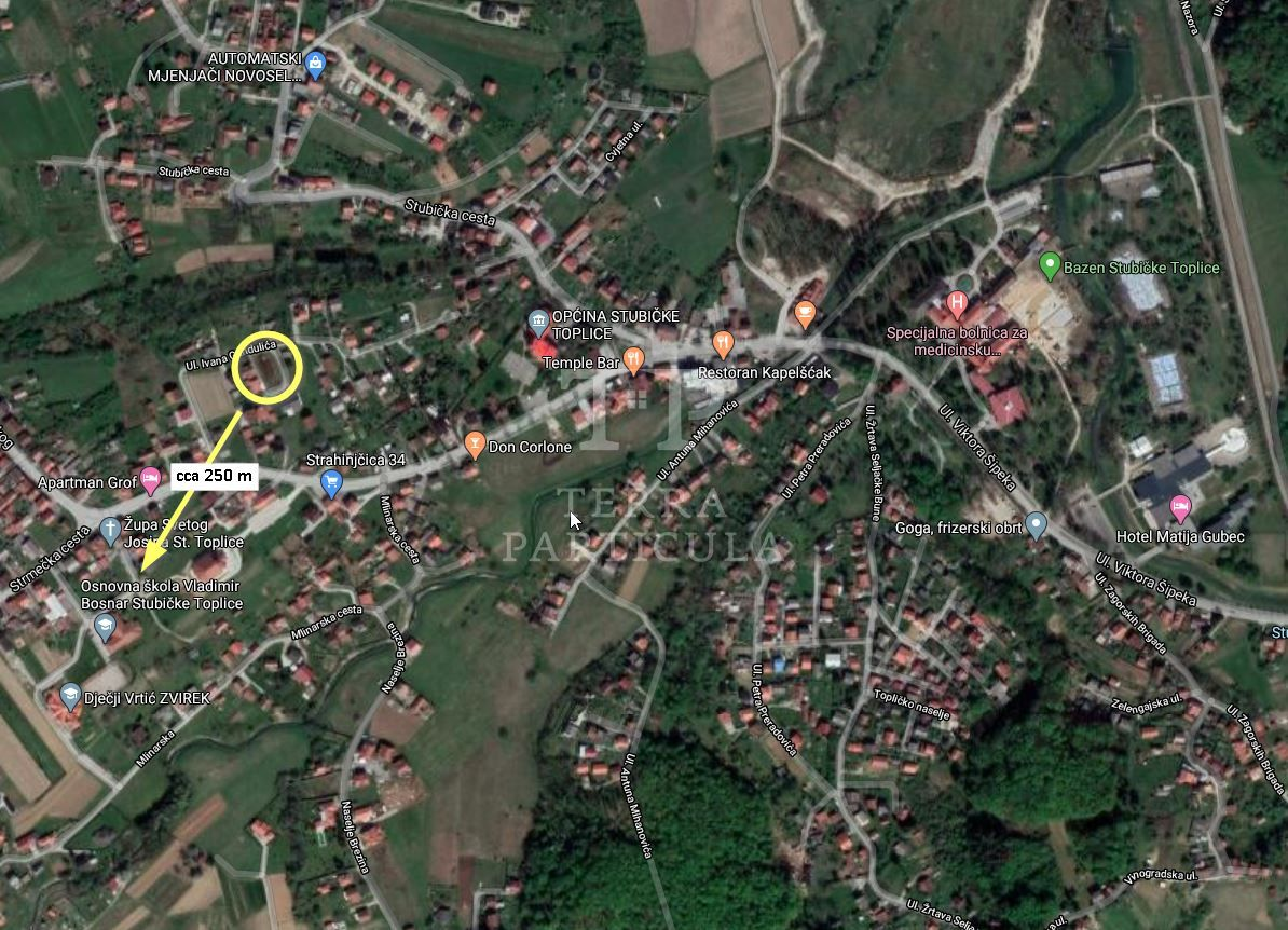 Stubičke Toplice, gradilište s pravomoćnom građevinskom dozvolom