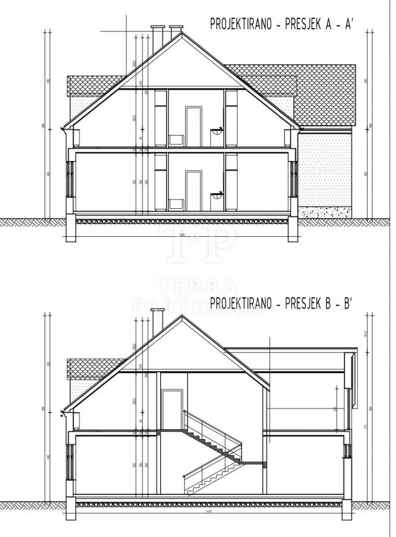 Grad Klanjec, gradilište za gradnju poslovno-stambenog objekta