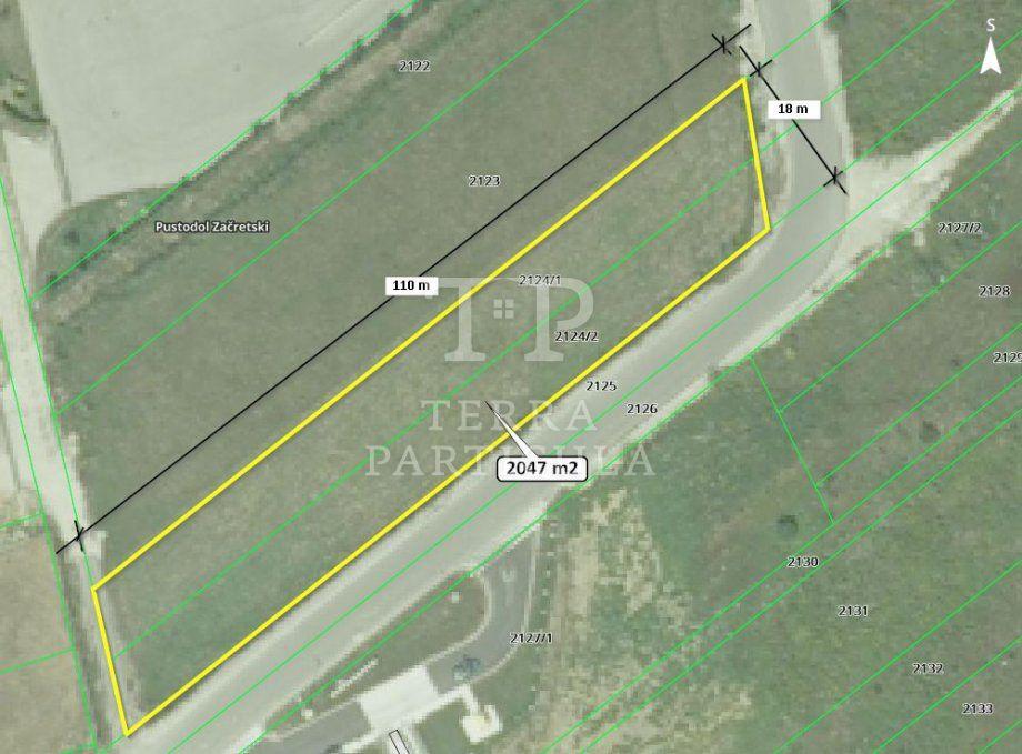Građevinsko zemljište, Sveti Križ Začretje, 2047 m2