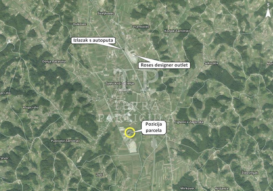 Građevinsko zemljište, Sveti Križ Začretje, 6193 m2