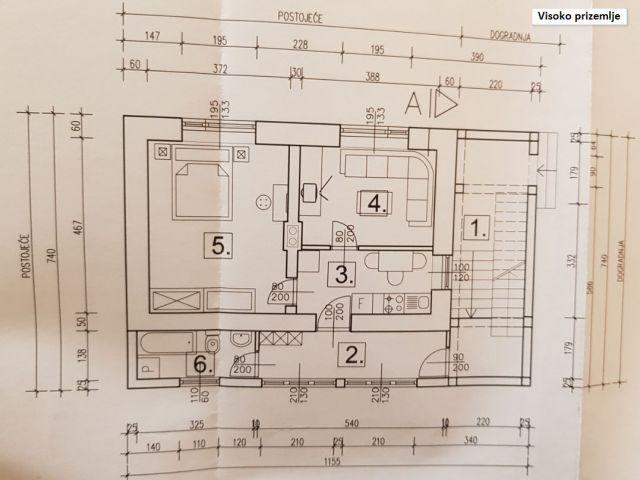Pregrada, stan 72,26 m2