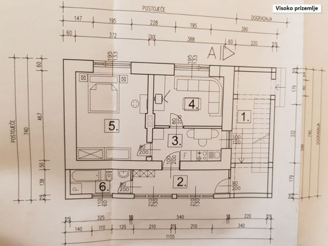 Pregrada, stan 62 m2