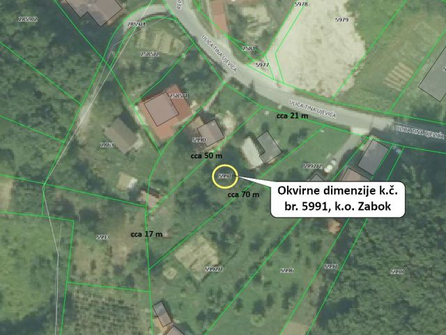 Grundstück Zabok, 947m2