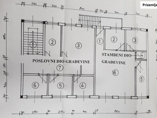 Krapina, Doliće, poslovno-stambeni prostor od cca 400 m2