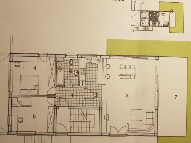 Hoto vile, Sveta Nedjelja, stan od 145,30 m2 s 121,2 m2 dvorišta