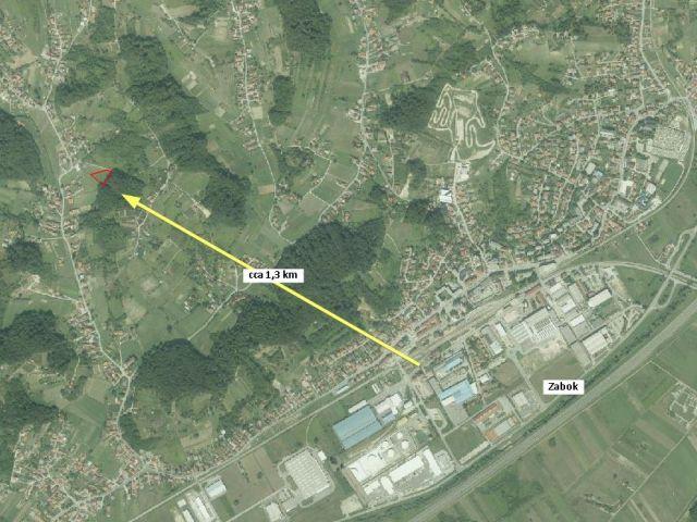 Land Jakuševec Zabočki, Zabok, 2.372m2