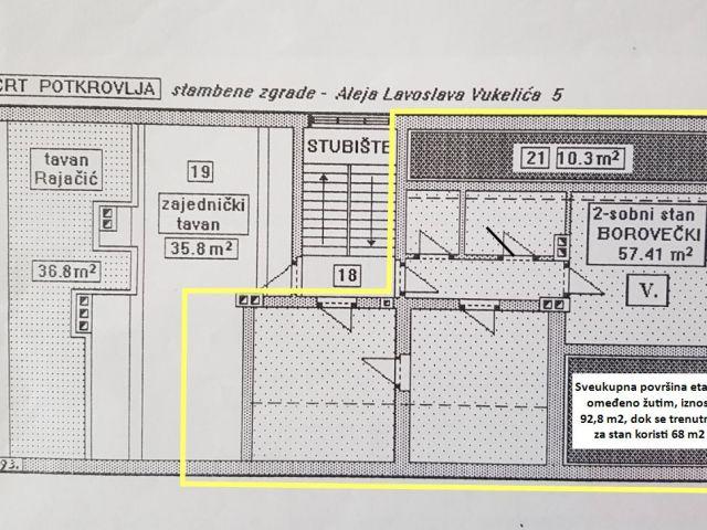 Sveti Križ Začretje, stan s više dodatnih prostorija i garažom