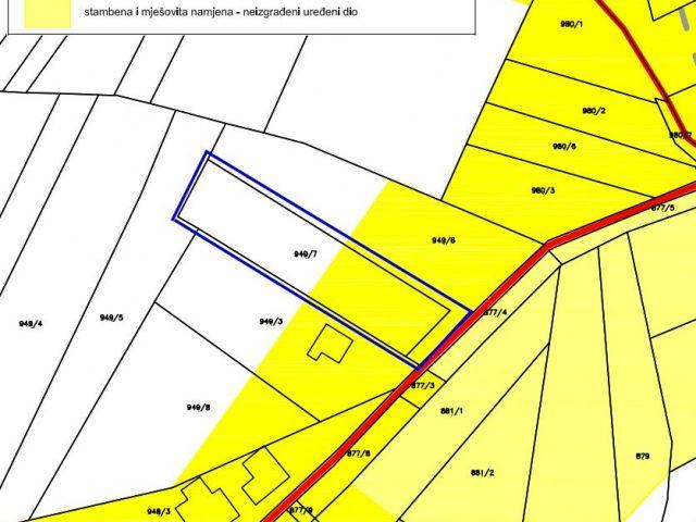 Tuheljske Toplice, građevinsko zemljište od 1697 m2
