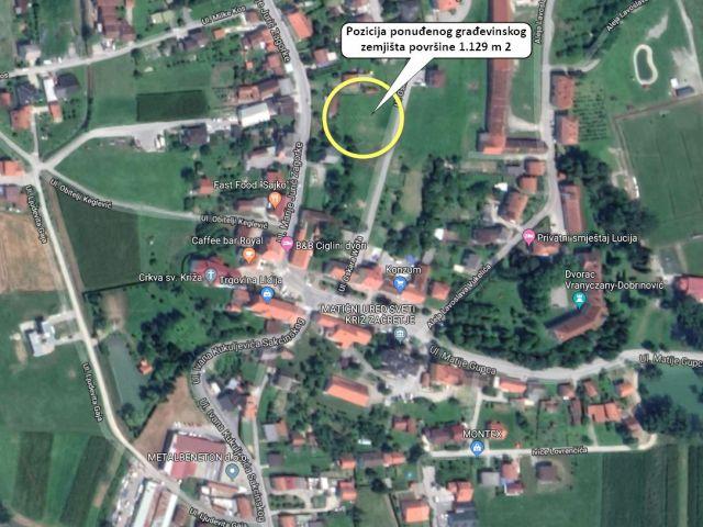 Sveti Križ Začretje, gradilište 1129