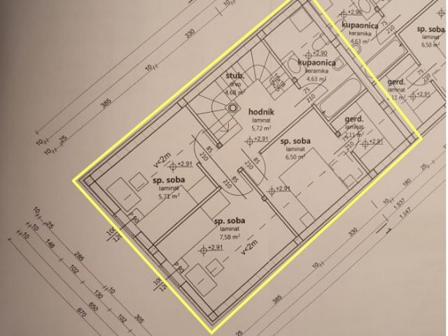Donja Stubica, stan od 93,90 m² u blizini Termi Jezerčica