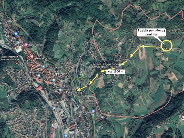 Grundstück Trški Vrh, Krapina - Okolica, 4.125m2