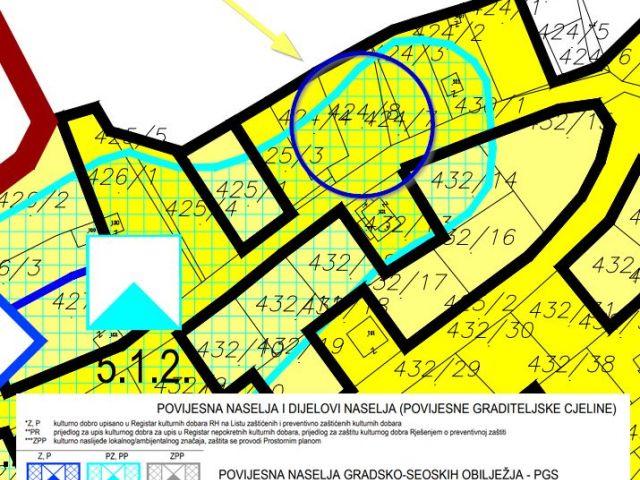 Građevinsko zemjište, 432 m2