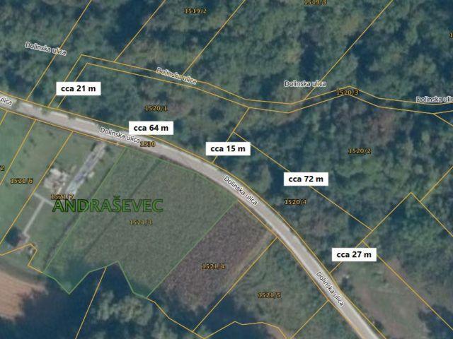 Oroslavje, građevinska zemljišta, 1.509 m² i 1.130 m²