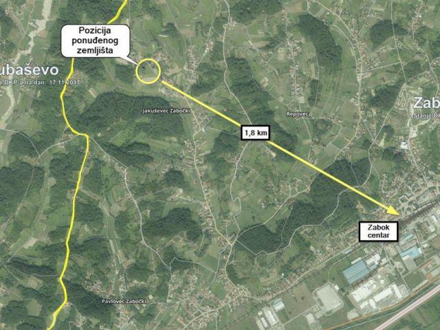 Građevinsko zemljište, Jakuševec Zabočki, 1162 m2 - HITNO !!!