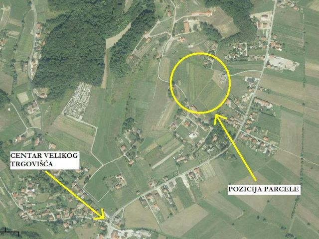Građevinsko zemljište: Veliko Trgovišće, 4906 m2