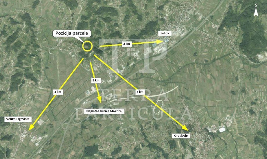 Zabok, Gubaševo, 2284 m2