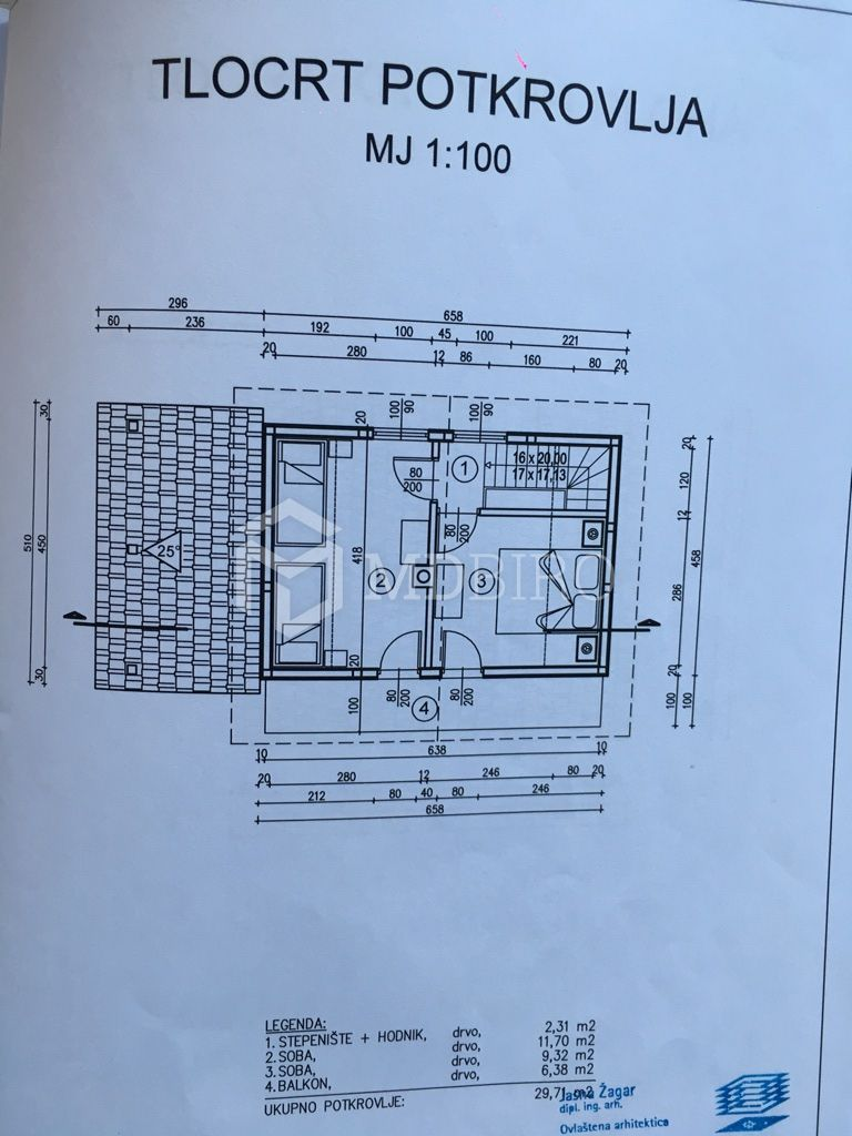 House Vode, Čabar, 65,35m2