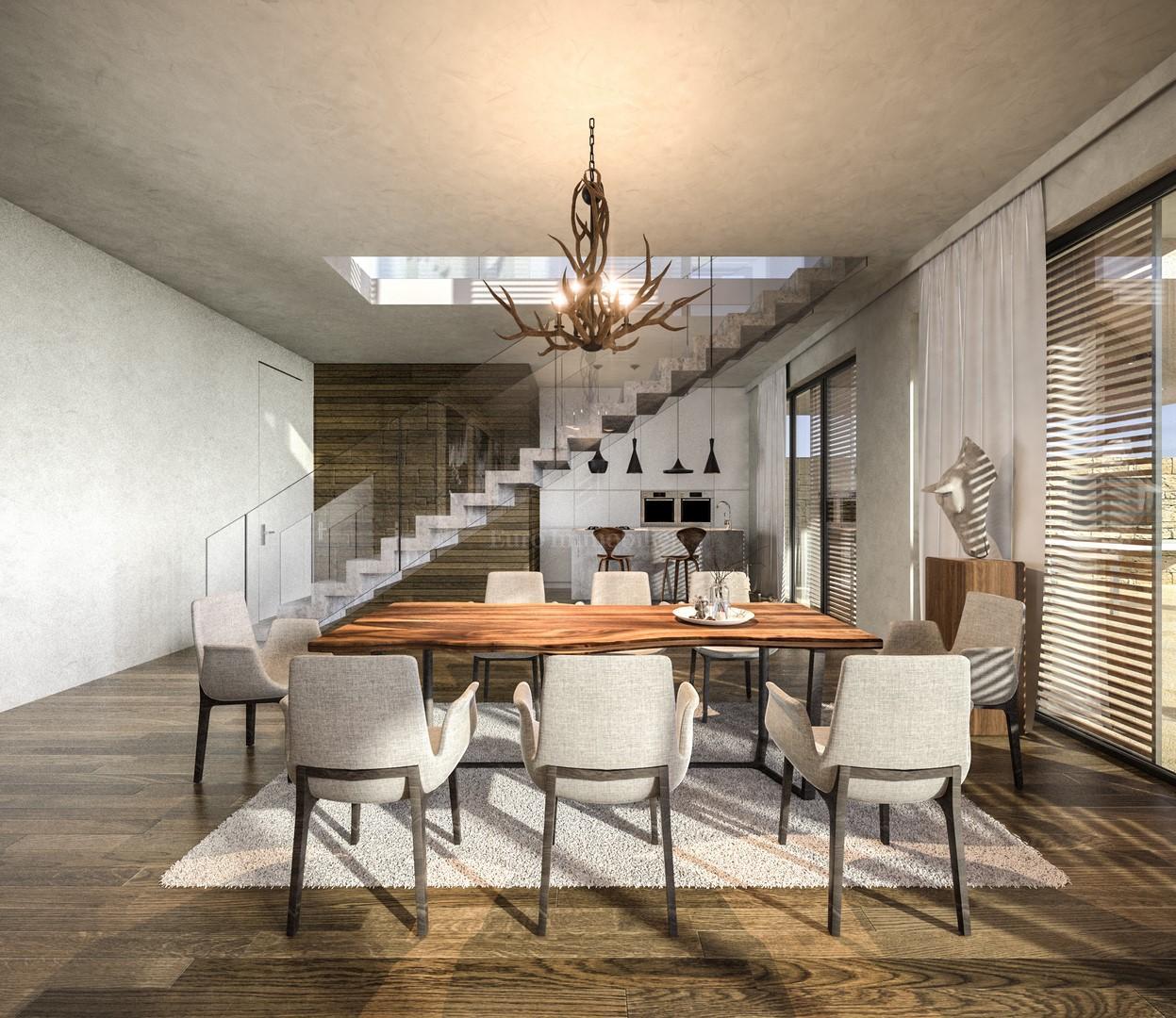 Moderne Villa mit panoramischen Meerblick , Haus