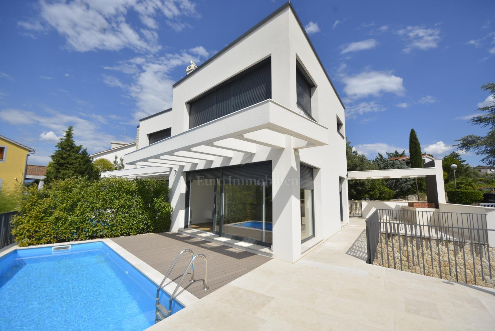 Modern Villa With Swimming Pool 200 From The Sea Haus