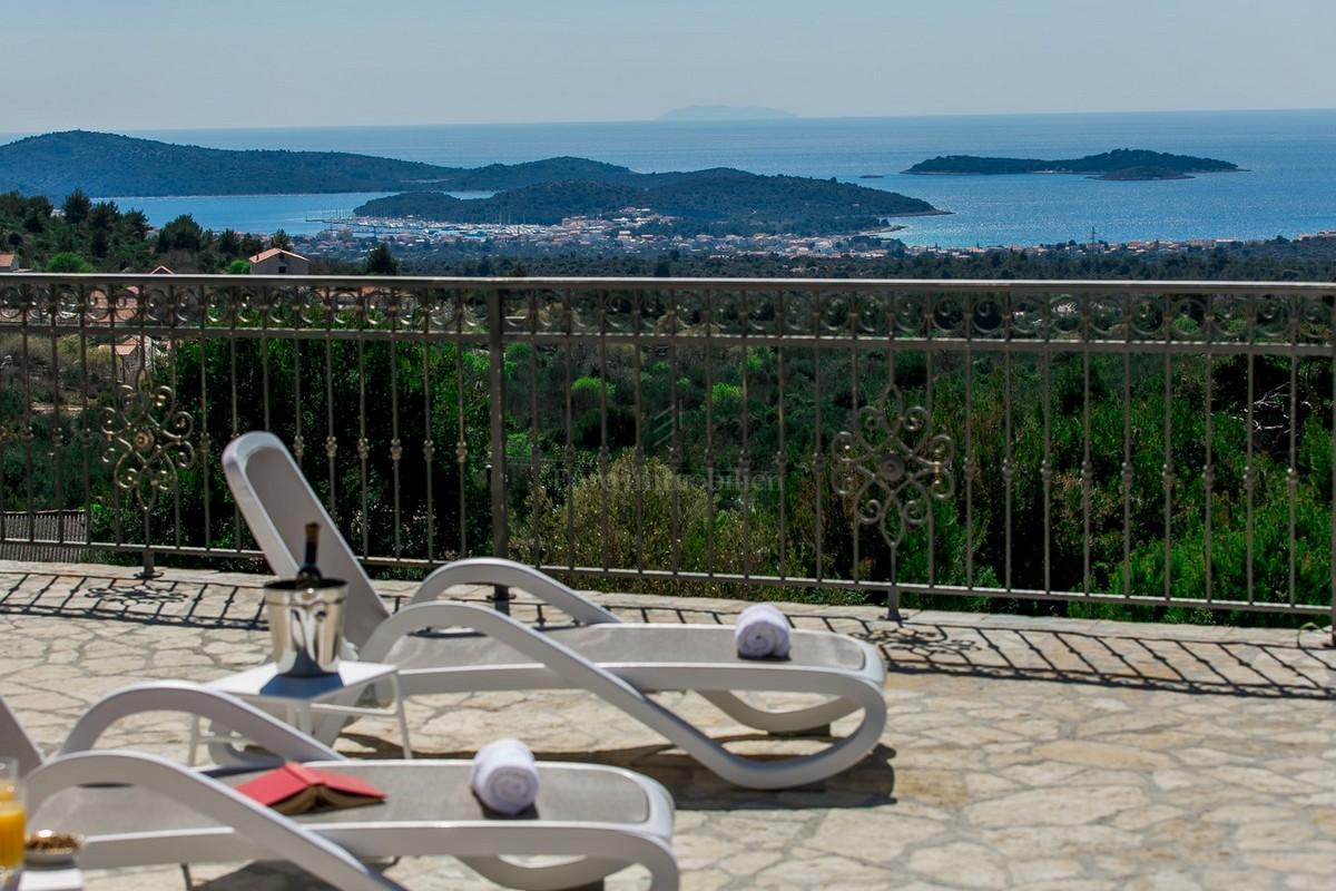 Mediterranean stone villa that provides luxury and comfort