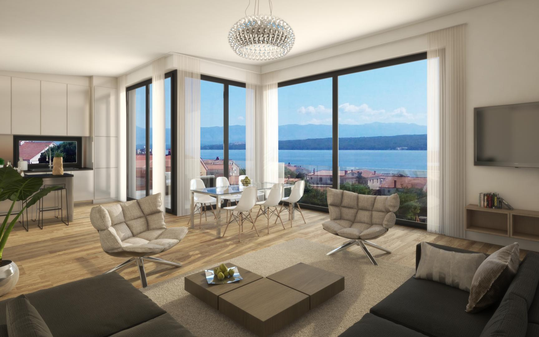 Eine Moderne Neue Wohnung In Bester Lage
