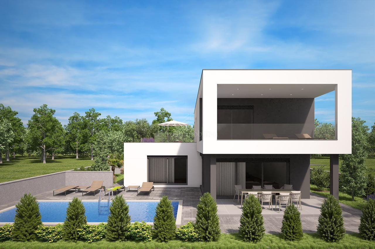 Luksuzna villa s bazenom i otvorenim pogledom na more
