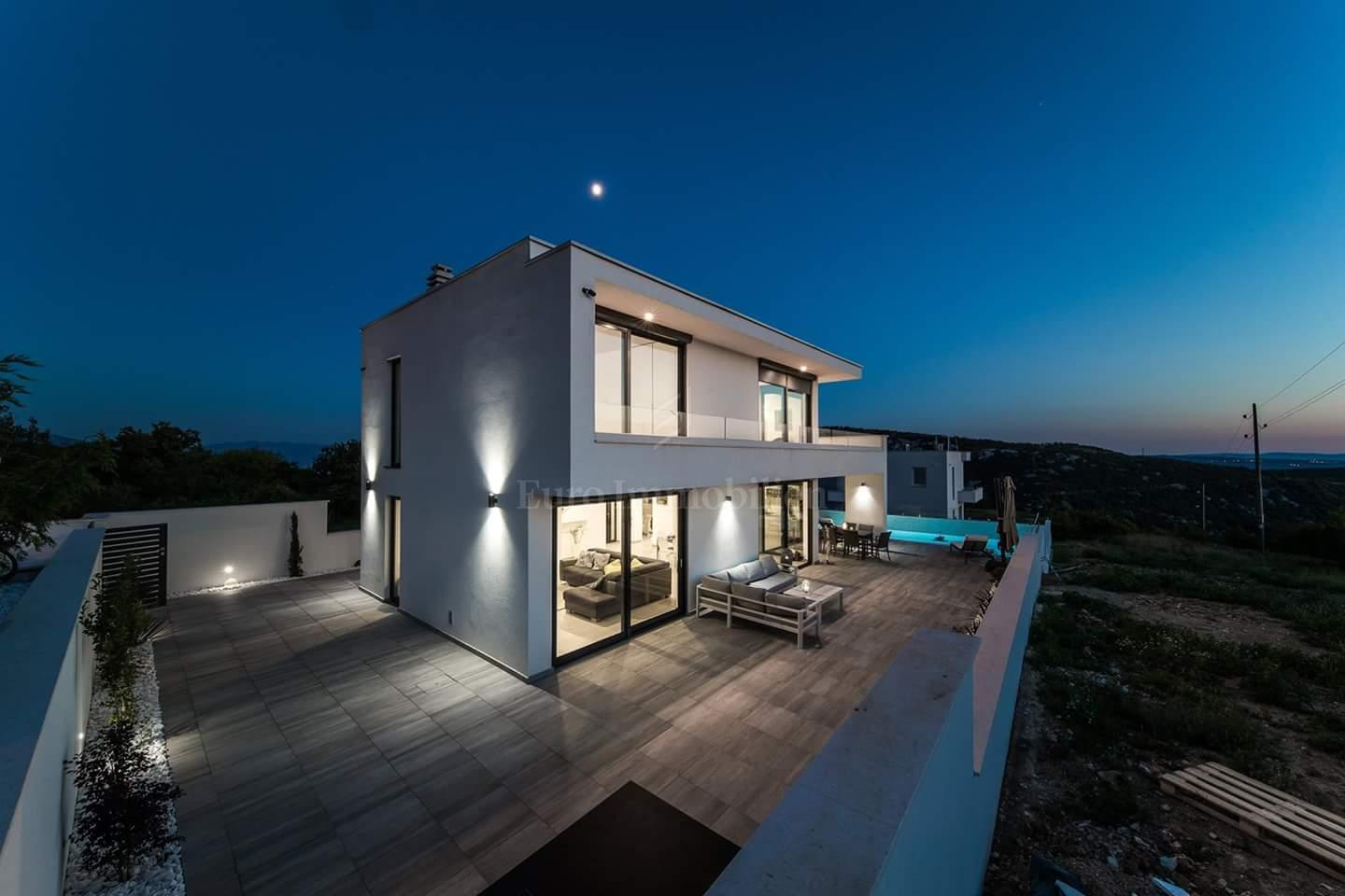 Modern family house is categorized for tourist rent