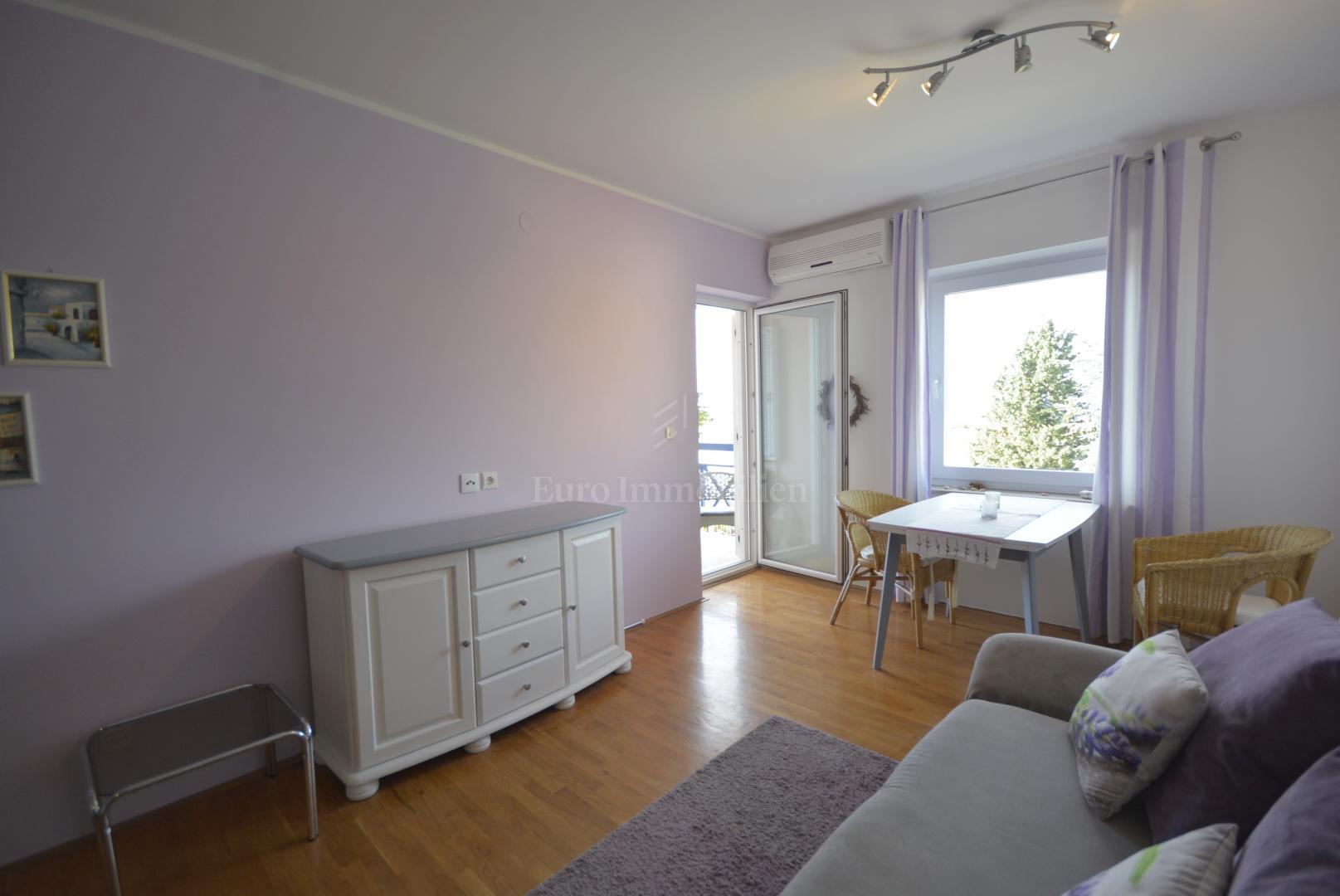 Appartamento con una camera da letto, vista mare, Appartamento