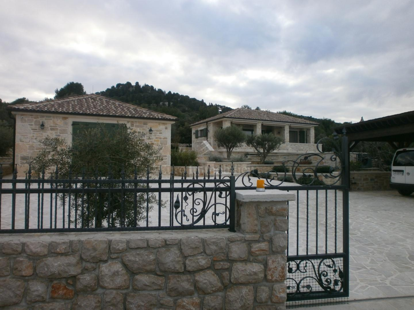 Two luxury homes first row to the sea