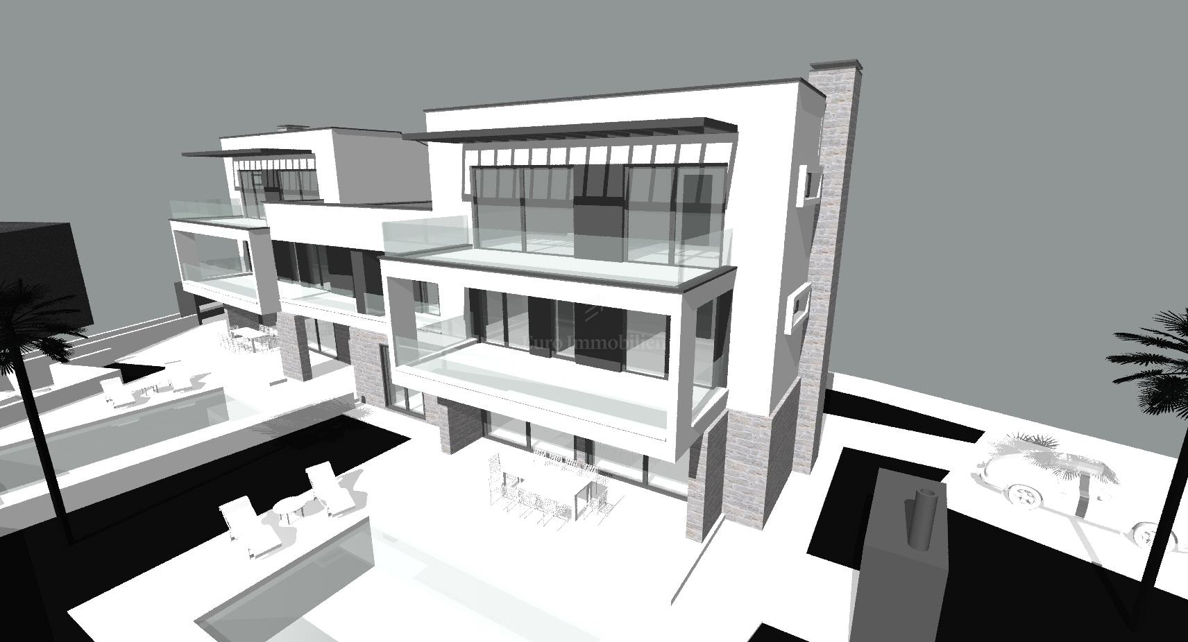 Baugrundstück mit Projekt und Baugenehmigung