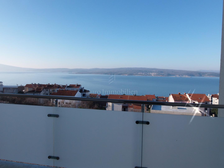 Novogradnja s pogledom na more u Crikvenici