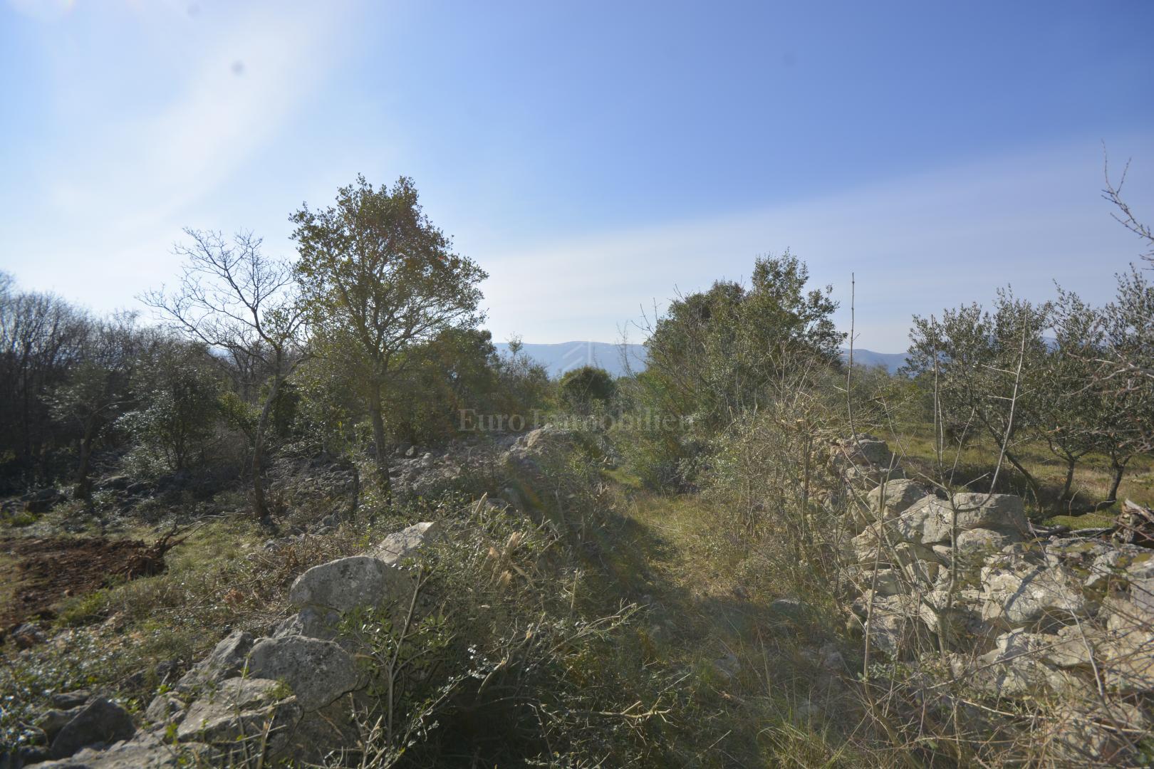 Građevinsko zemljište s otvorenim pogledom na more