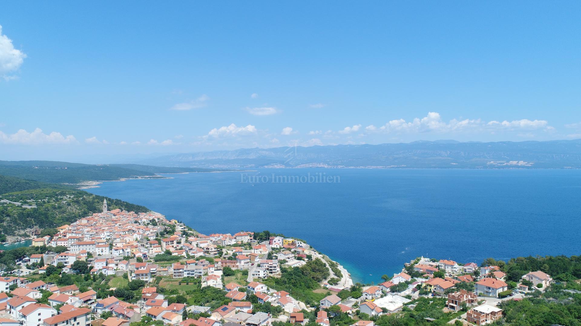 Građevinsko zemljište s prekrasnim pogledom na more