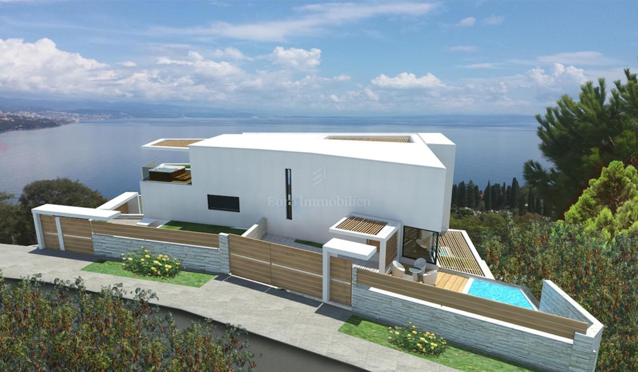 New two storey apartment of 250 sqm! Beautiful sea view!