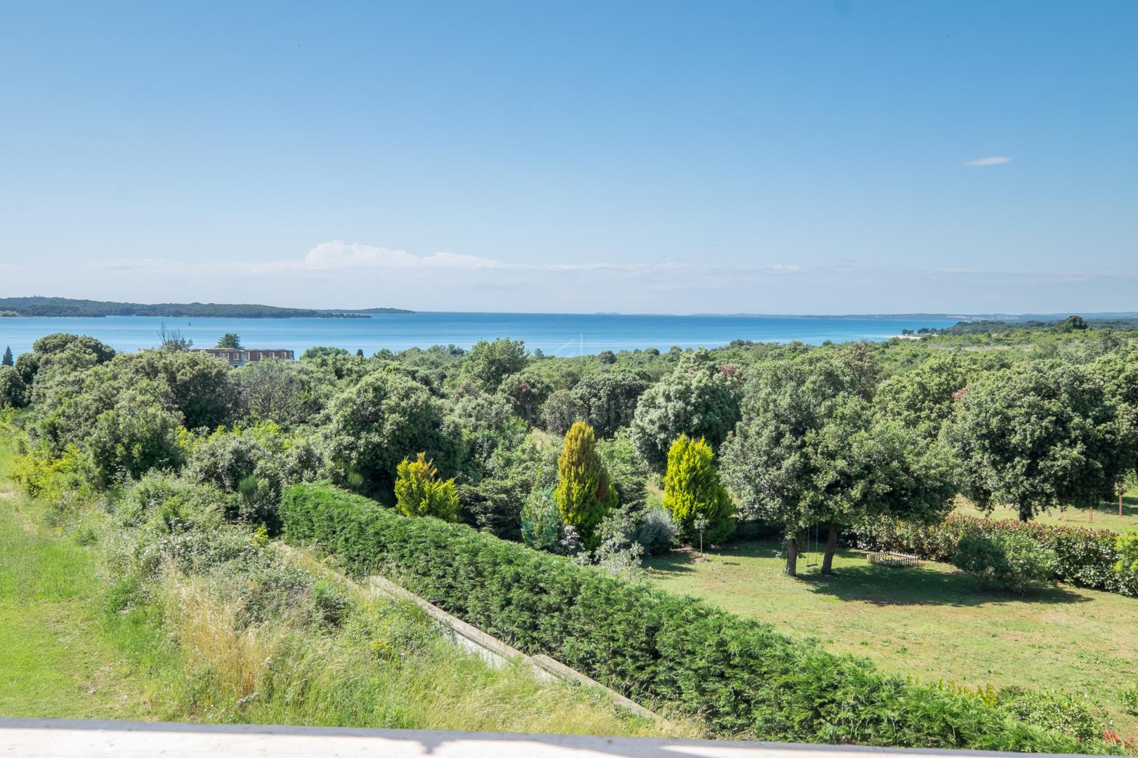 Beautiful penthouse overlooking Brijuni National Park