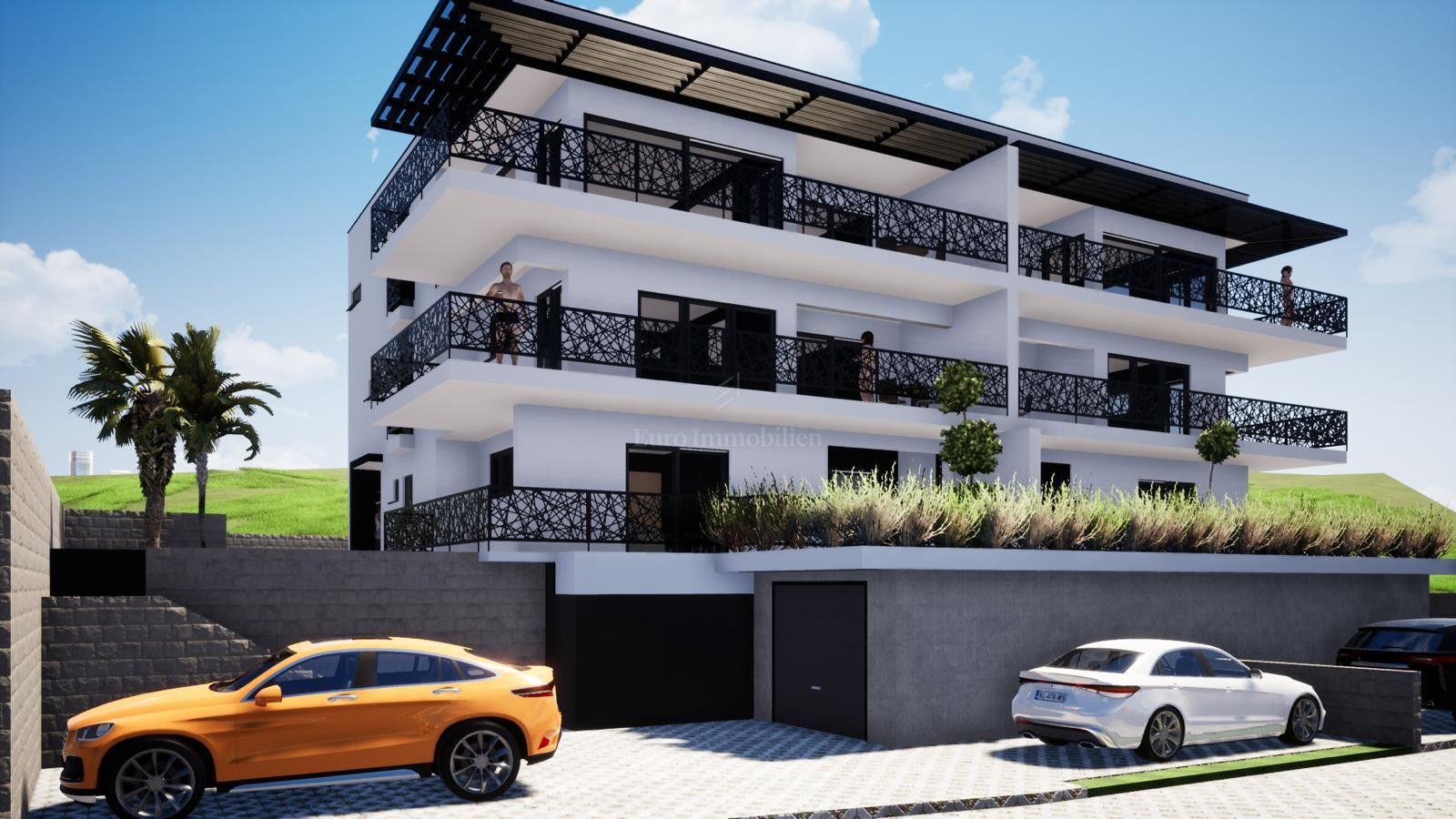 Dramalj građevinski teren za gradnju apartmana