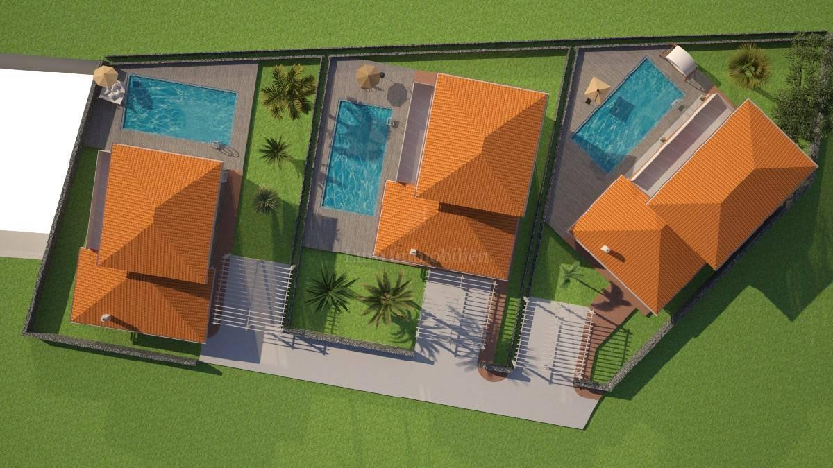 Samostojeća vila sa pogledom na more i bazenom! Otok Krk!