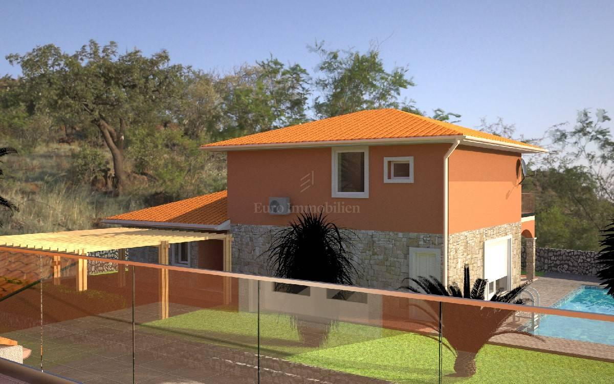 piuttosto economico negozio comprare bene Villa indipendente con vista mare e piscina! L'isola di Krk!, Casa