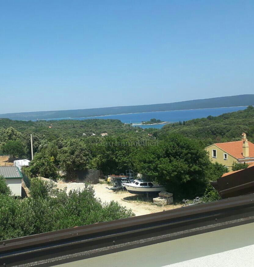 NOVOGRADNJA! Apartman s predivnim pogledom na more, otok Cres i Velebit