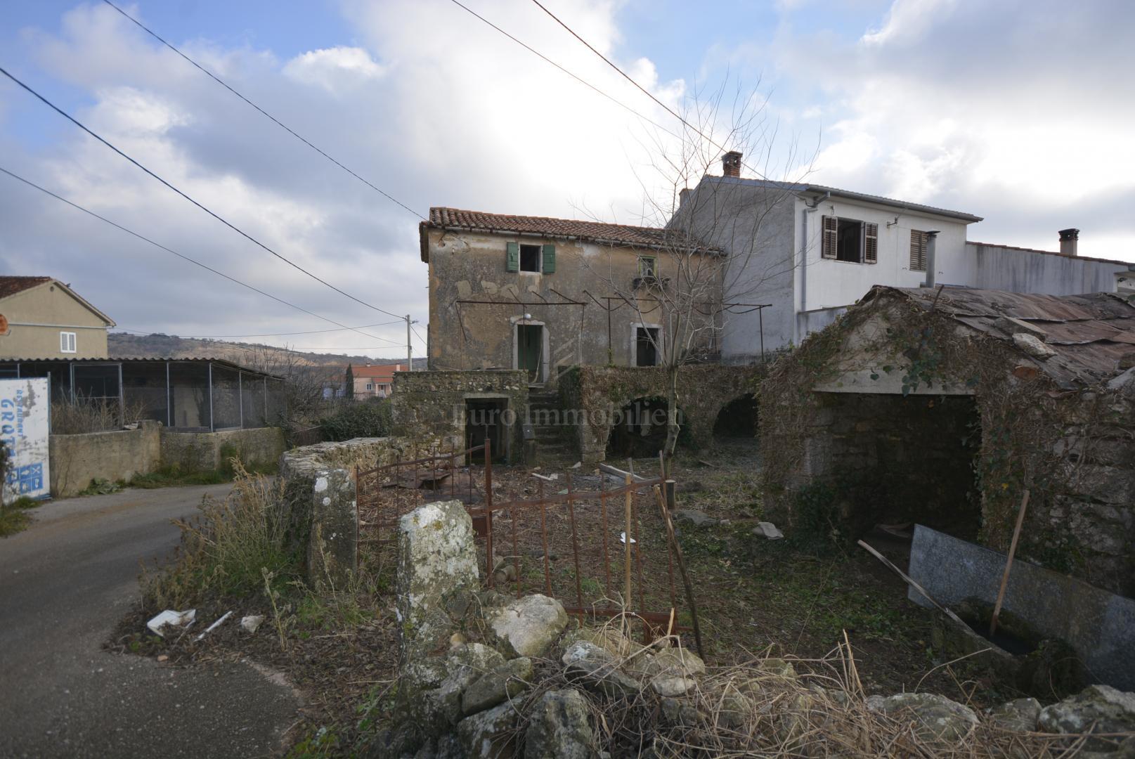 Starina za adaptaciju na mirnoj lokaciji okružena zelenilom